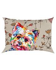 Yorkshire Terrier All Over Shirt Rectangular Pillowcase thumbnail