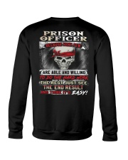 Prison Officer Crewneck Sweatshirt thumbnail