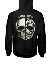 Cabin Crew Exclusive Shirt Hooded Sweatshirt back