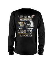 Hair Stylist Long Sleeve Tee thumbnail
