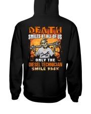 Diesel Technician Hooded Sweatshirt back