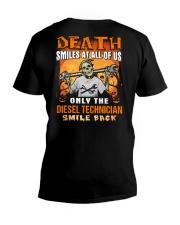 Diesel Technician V-Neck T-Shirt thumbnail