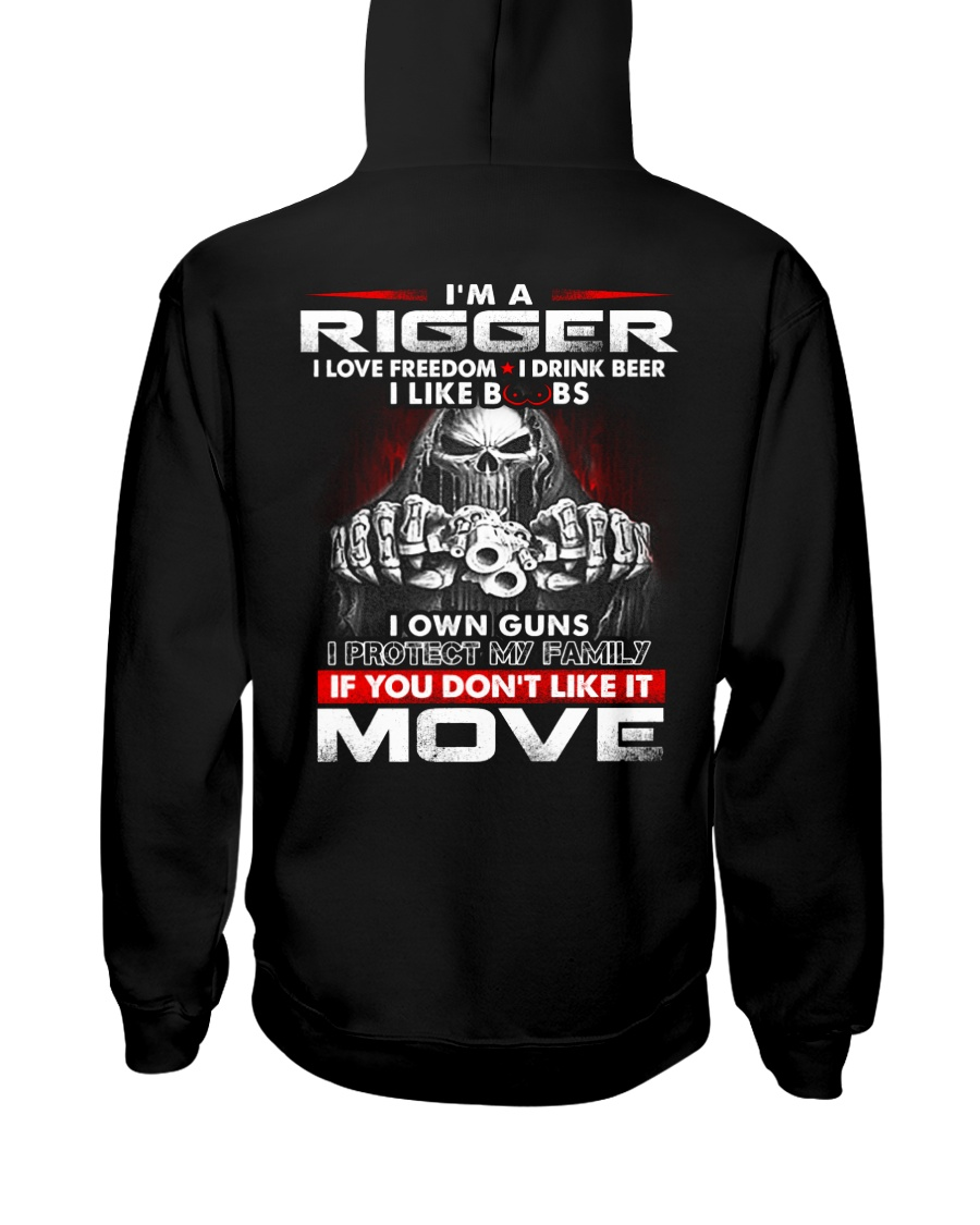Rigger Exclusive Shirt Hooded Sweatshirt