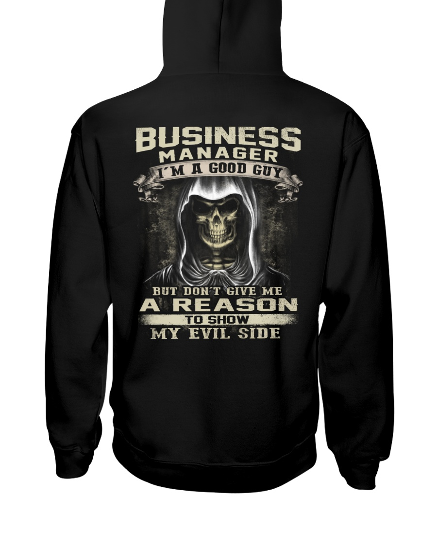 Business Manager Hooded Sweatshirt