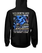 Welder Life Hooded Sweatshirt back