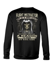 Flight Instructor Crewneck Sweatshirt thumbnail