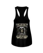 Flight Instructor Ladies Flowy Tank tile