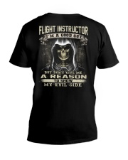 Flight Instructor V-Neck T-Shirt thumbnail