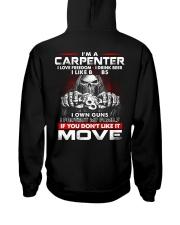 Carpenter Exclusive Shirt Hooded Sweatshirt back