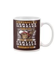 Quality Manager Mug thumbnail