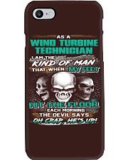 Wind Turbine Technician Phone Case thumbnail