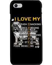 I Love My Shar Pei Dogs Phone Case thumbnail