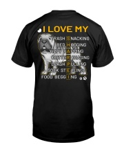 I Love My Shar Pei Dogs Classic T-Shirt thumbnail