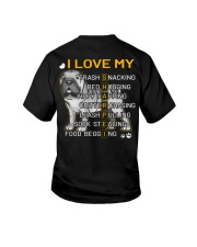I Love My Shar Pei Dogs Youth T-Shirt thumbnail