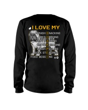 I Love My Shar Pei Dogs Long Sleeve Tee thumbnail