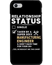 Manufacturing Engineer Phone Case thumbnail