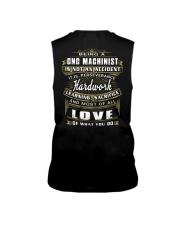 CNC Machinist Exclusive Shirt Sleeveless Tee thumbnail