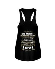 CNC Machinist Exclusive Shirt Ladies Flowy Tank thumbnail
