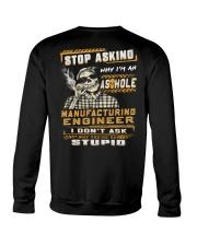 Manufacturing Engineer Crewneck Sweatshirt thumbnail