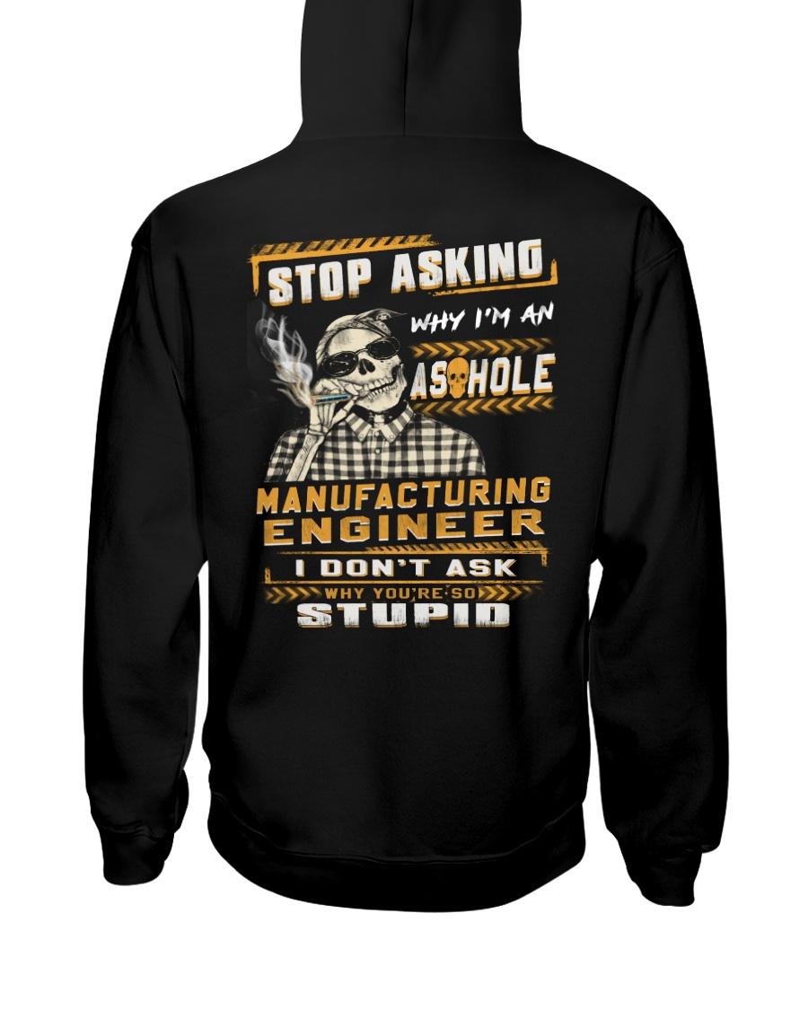 Manufacturing Engineer Hooded Sweatshirt