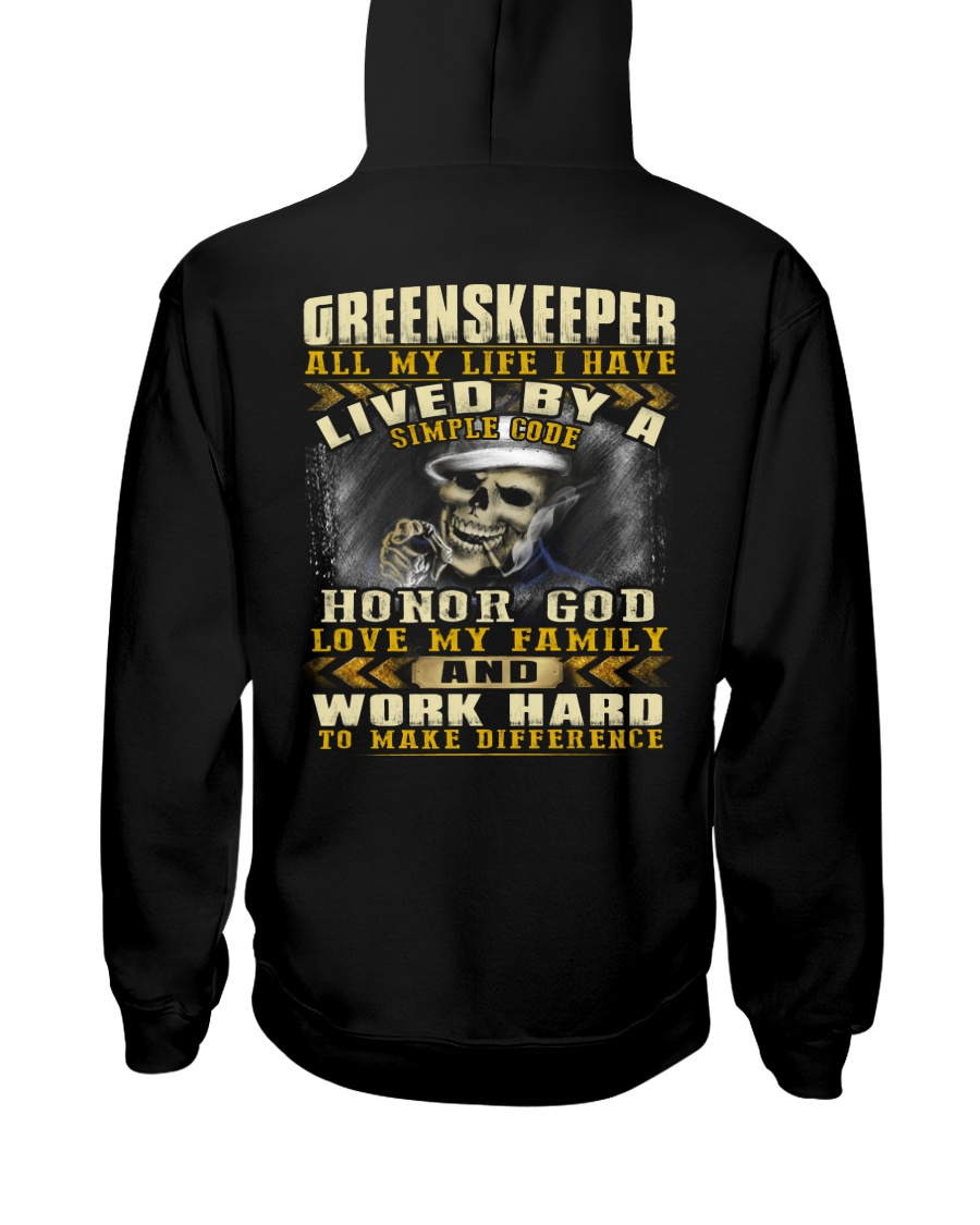 Greenskeeper Hooded Sweatshirt