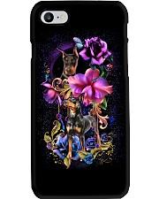 Doperman Pinscher Dog Flower Phone Case Phone Case i-phone-7-case