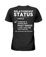 Project Manager Ladies T-Shirt back