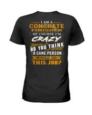 Concrete Finisher Ladies T-Shirt thumbnail