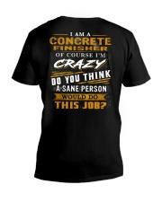 Concrete Finisher V-Neck T-Shirt thumbnail