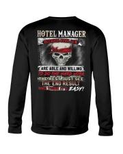 Hotel Manager Crewneck Sweatshirt thumbnail