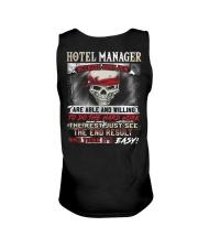 Hotel Manager Unisex Tank thumbnail