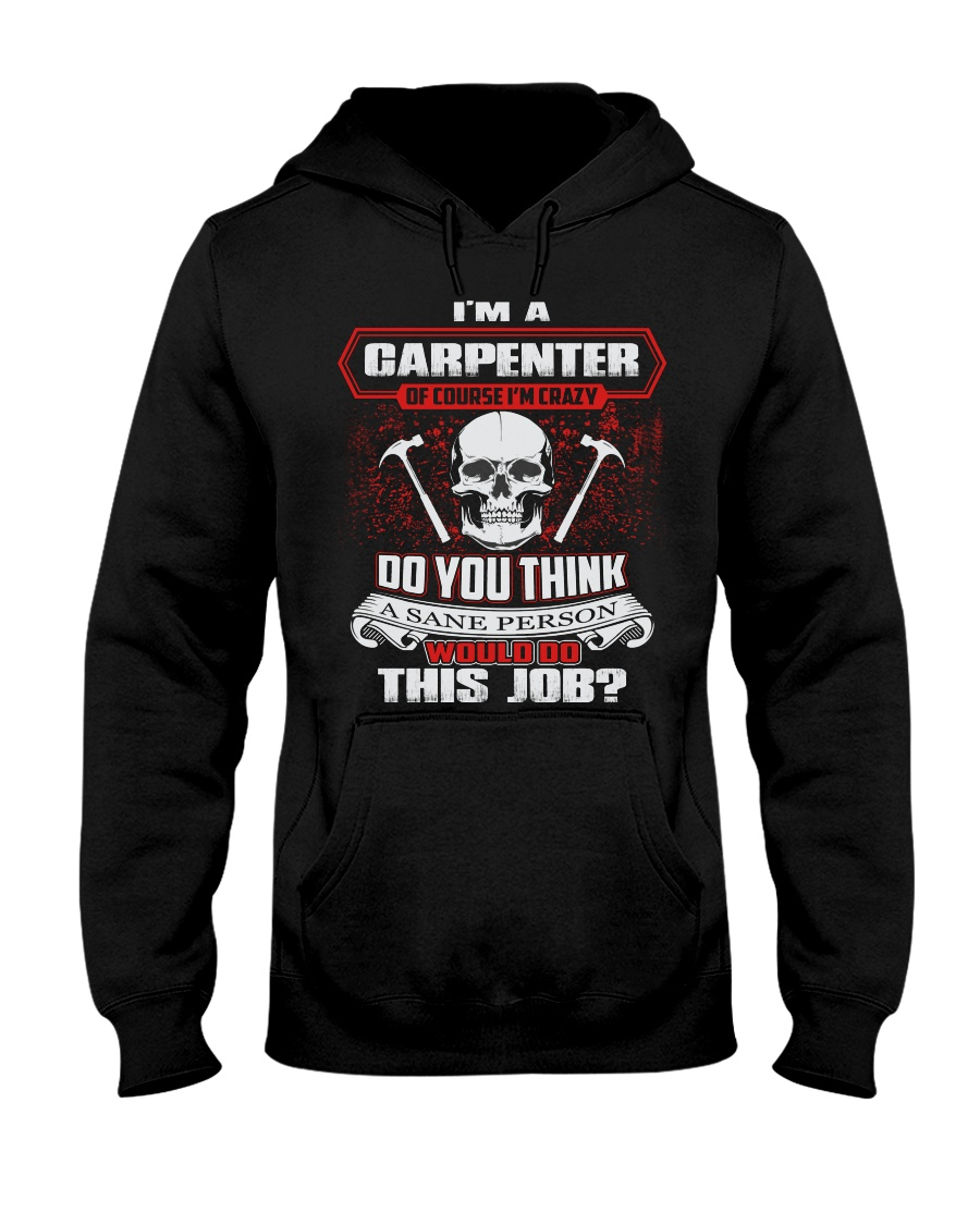Carpenter Exclusive Shirt Hooded Sweatshirt