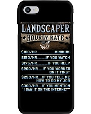 Landscaper Phone Case tile