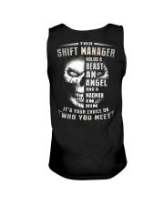 Shift Manager Unisex Tank thumbnail
