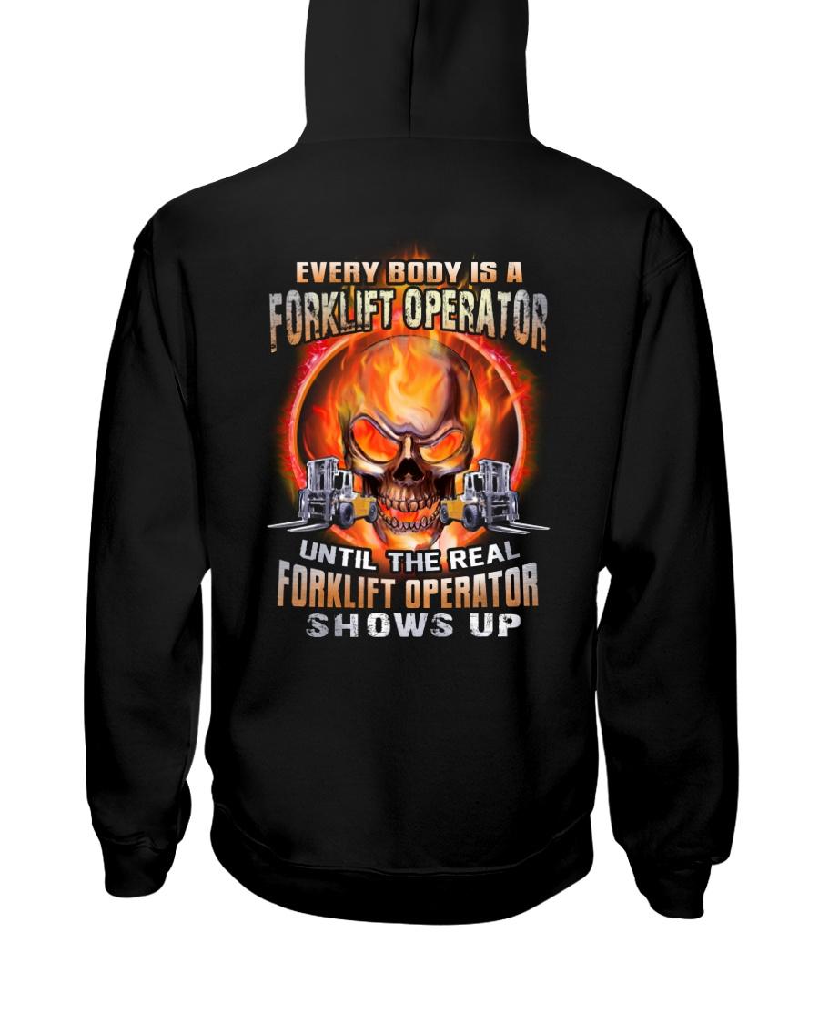 Forklift Operator Hooded Sweatshirt
