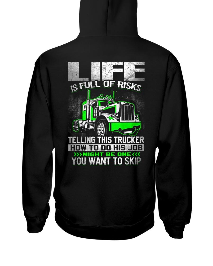 Truck Driver Hooded Sweatshirt