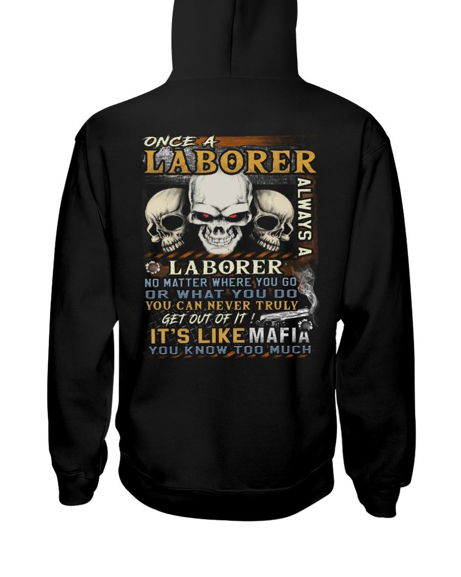 Laborer Hooded Sweatshirt