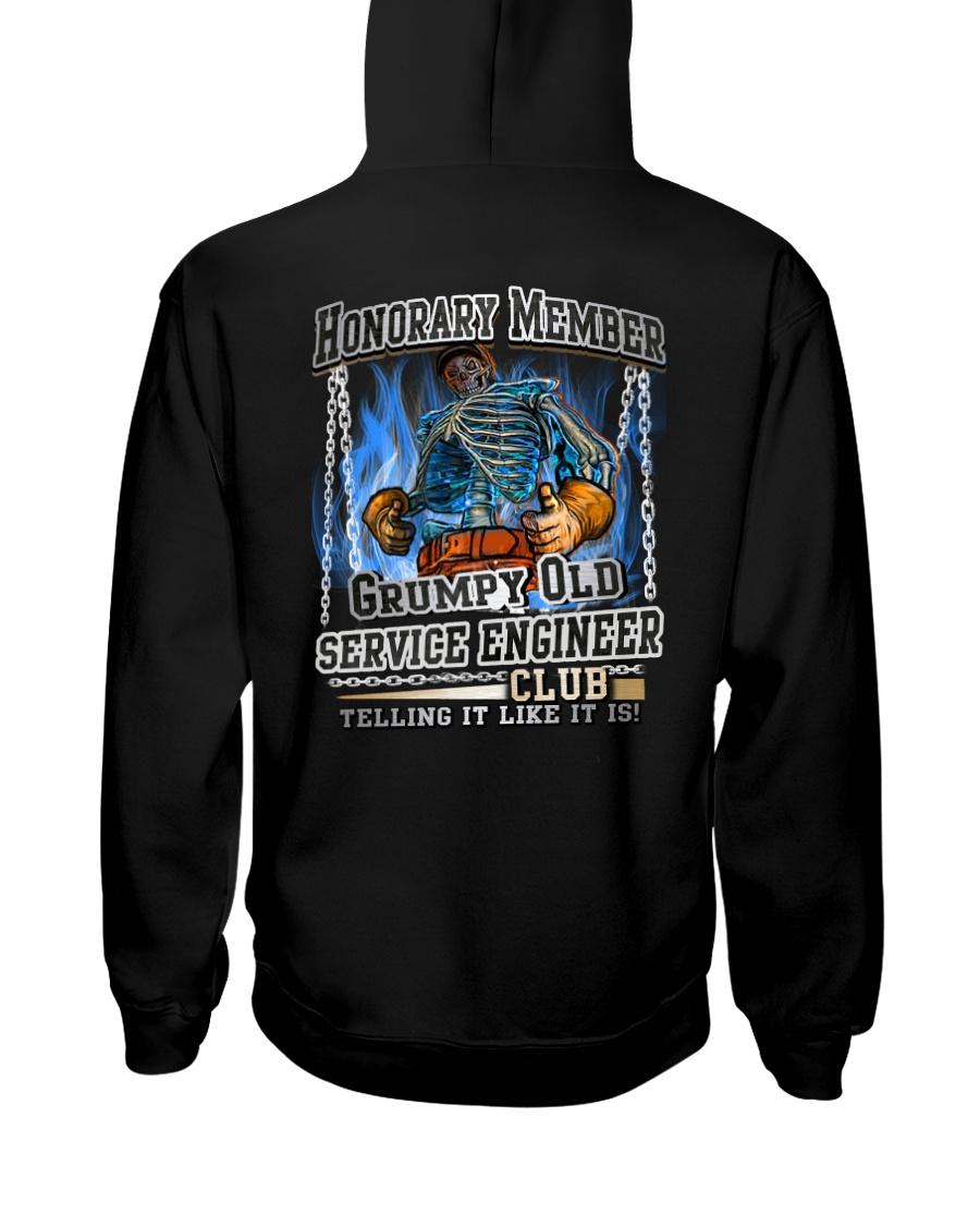 service engineer Hooded Sweatshirt