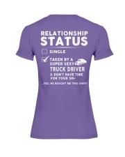 Trucker Truck Truck Driver Jobs Shirt Premium Fit Ladies Tee thumbnail