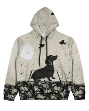 Dachshund All Over Shirt Women's All Over Print Hoodie thumbnail