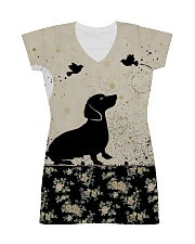 Dachshund All Over Shirt All-over Dress thumbnail