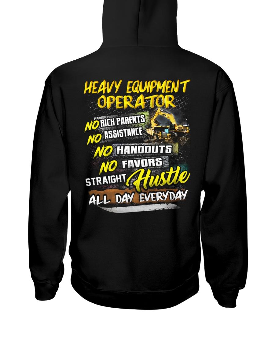 Heavy Equipment Operator Hooded Sweatshirt