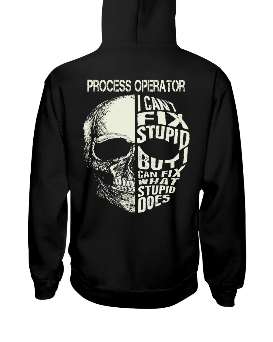 Process Operator Exclusive Shirt Hooded Sweatshirt