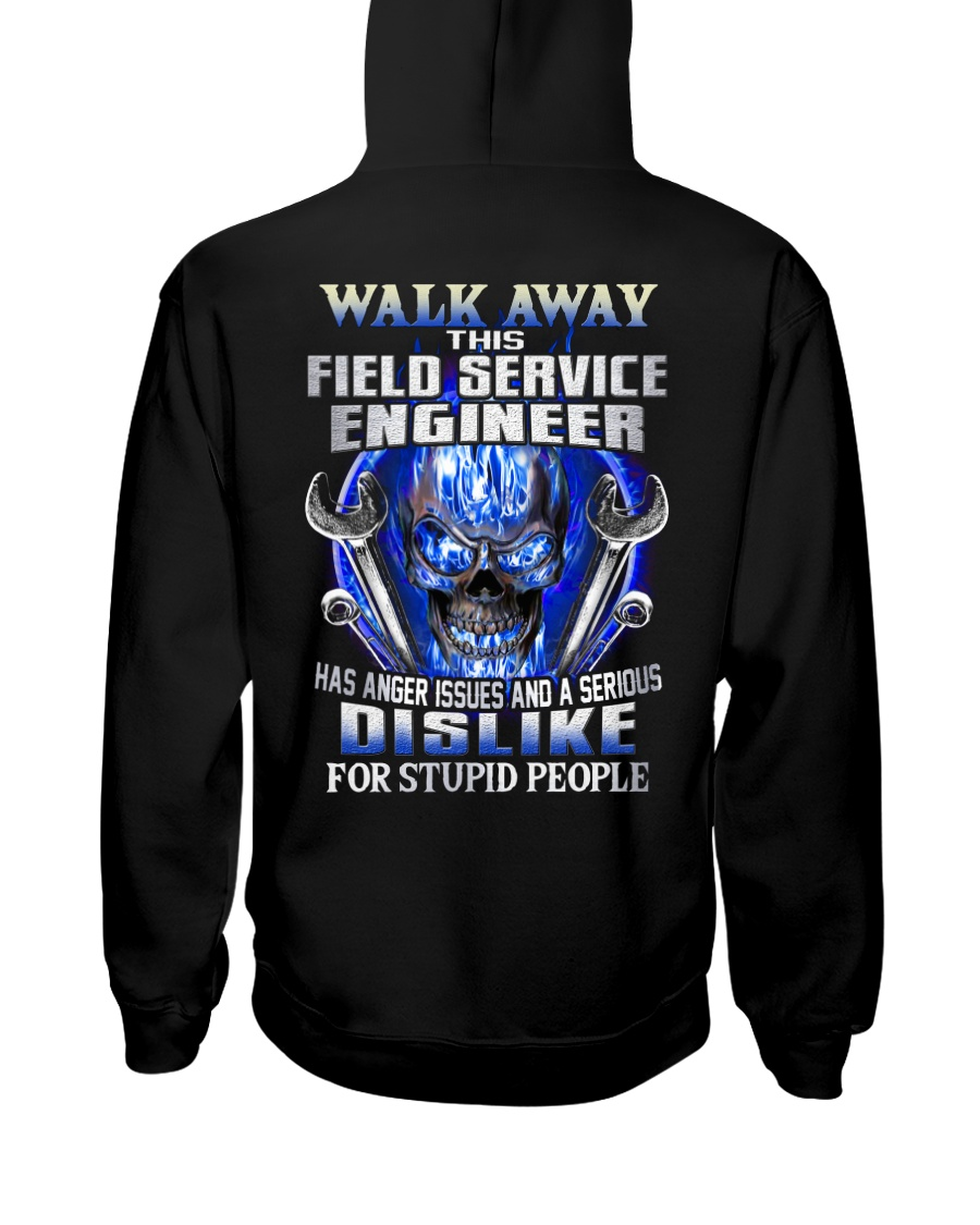 Field Service Engineer Hooded Sweatshirt