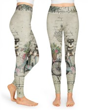Schnauzer All Over Shirt High Waist Leggings thumbnail