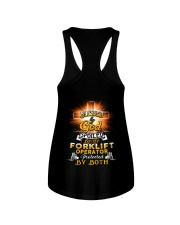 Forklift Operator Forklift Operating Job Shirt Ladies Flowy Tank thumbnail