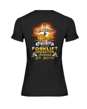 Forklift Operator Forklift Operating Job Shirt Premium Fit Ladies Tee thumbnail