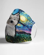 West Highland White Terrier Cloth face mask aos-face-mask-lifestyle-21