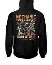Mechanic Hooded Sweatshirt back