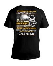 Cashier V-Neck T-Shirt thumbnail